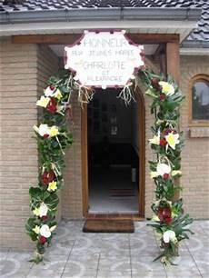 decoration maison pour mariage porte entree pour mariage de la deco du bonheur