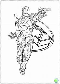 Malvorlagen Ironman Indonesia Iron Coloring Page Dinokids Org