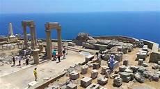 greece akropolis lindos rhodos griechenland
