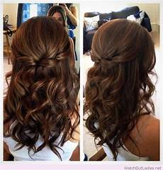 simple wedding hairstyles for thin hair wedding hairstyles brown hair in 2019 curled prom hair