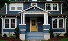 blue home exterior makeover curb appeal ideas