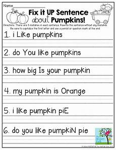writing simple sentences worksheets 1st grade 22232 fix it up sentences and so many more pages classroom ideas work stations