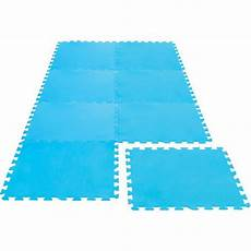tapis dalles de protection en mousse pour piscine ou spa