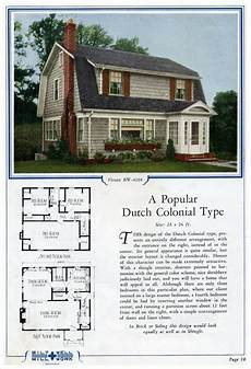 dutch gambrel house plans 1924 bilt well model 4208 dutch colonial this is a sweet