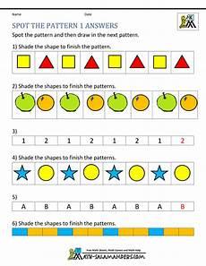 patterns worksheets for kindergarten pdf 11 free kindergarten worksheets spot the patterns