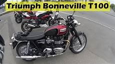 Quot Essai Quot De La Triumph Bonneville T100