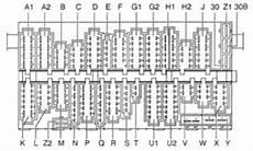 volkswagen golf mk3 fuse box diagram auto genius