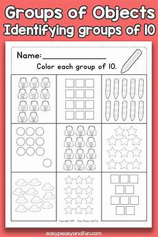 counting groups of objects worksheets ten easy peasy and fun membership