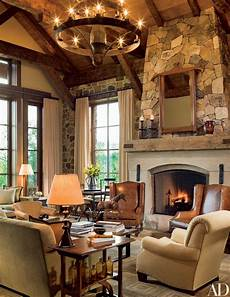 13 utterly inviting rustic living room ideas photos architectural digest