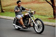 Modifikasi Motor Chopper by Gl 100 Bergaya Chopper Tak Asal Murah Gilamotor