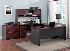 amazon home office furniture amazon com altra pursuit executive desk cherry gray