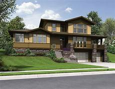 uphill slope house plans plan 69520am craftsman for uphill sloping lot craftsman