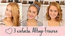 Einfache Frisuren Für Schulterlange Haare - no more bad hair day 3 einfache frisuren