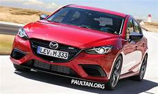 mazda 3 mps rendered hatch to revive mps badge