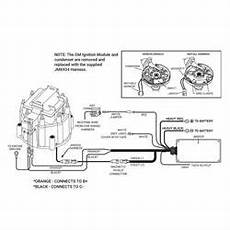 ford hei distributor wiring diagram for 74 hei distributor sbf small block ford 289 302 blue