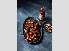 chicken wings with bourbon molasses glaze_image