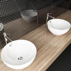 Gäste Wc Aufsatzwaschbecken - keramik design waschschale waschbecken tisch