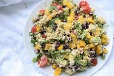 Himmlisch Frischer Blumenkohl Avocado Salat Lachfoodies