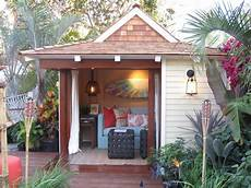 Garage Shed Style Tropical