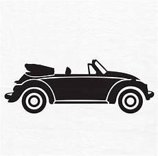 Vw Käfer Silhouette - vw beetle svg file convertible vw bug svg file vector clip