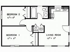 2 bedroom cottage floor plans simple two bedrooms house plans for small home modern