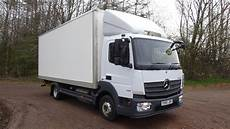 7500kgs Mercedes Atego 816 Box Alltruck