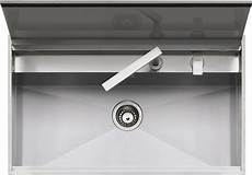 rubinetto a scomparsa 86x51 cm built in and flush lab sink with cover barazza srl