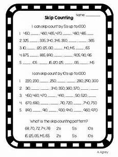 skip counting by 5 s to 1000 worksheets 12080 free skip counting resource for counting within 1 000 classroom freebies