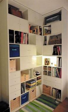 Meuble Sur Mesure Ikea A Made To Measure Kallax Corner Bookcase Furniture