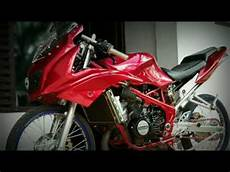 150 Rr Modif Simple by Kawasaki Rr Merah 150 Modifikasi Simple