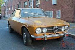 TWO 1971s ALFA ROMEO GTV 1750 COMPLETE PROJECT CARS 2000