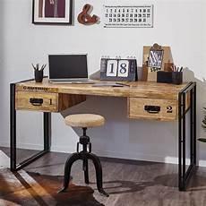 Schreibtisch Iron Schreibtisch Holz Schreibtisch