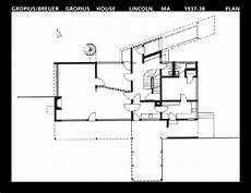 gropius house plan week5