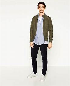 Blouson L 201 Ger Bombers Homme Zara Canada En 2019 Veste