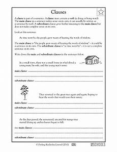 writing complete sentences worksheets 4th grade 22141 3rd grade 4th grade writing worksheets clauses parts of a sentence writing worksheets 4th