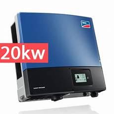 inverter sma 20kw lắp đặt hệ thống điện năng lượng mặt