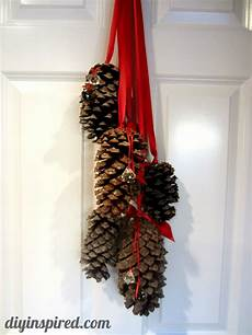 Home Decor Ideaswith Pine Cones by Hanging Pine Cone Decoration Diy Inspired