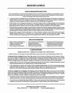 sle human resources manager resume sle resumes