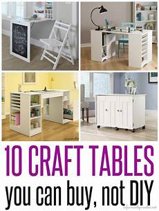 craft tables you can buy instead of diy