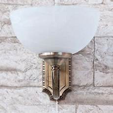 art nouveau wall l with pull cord switch wall l brass lights 5998250385419 ebay