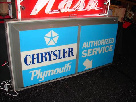 1970 Chrysler-plymouth Authorized Service Light-up