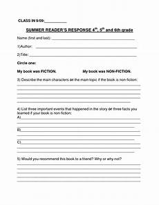 report writing worksheets for grade 4 22900 book report template summer book report 4th 6th grade as book report templates