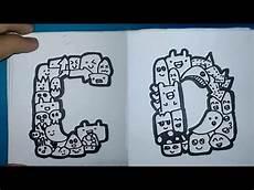 Gambar Doodle Huruf A Sai Z Tempat Berbagi Gambar