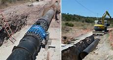renouvellement d une conduite d adduction d eau potable dn