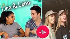 und lena musically and lena musically musical ly compilation reaction