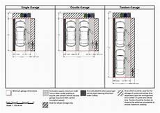 dimension garage 2 places option j 1 residential car parking standards squeeze 1