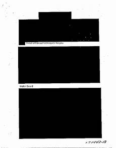 redacted cia document about torture almost entirely blacked out boing boing
