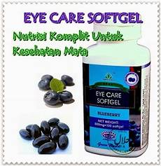 jual obat herbal untuk mata minus eye care softgel green world di lapak riyad supriyatna