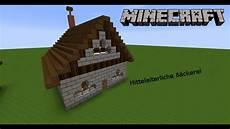 minecraft tutorial mittelalterliche b 228 ckerei bauen
