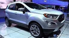 2018 ford ecosport titanium exterior and interior